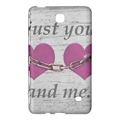 Shabby Chich Love Concept Poster Samsung Galaxy Tab 4 (7 ) Hardshell Case  by dflcprints