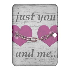 Shabby Chich Love Concept Poster Samsung Galaxy Tab 4 (10 1 ) Hardshell Case  by dflcprints