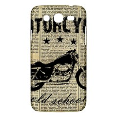 Motorcycle Old School Samsung Galaxy Mega 5 8 I9152 Hardshell Case  by Valentinaart