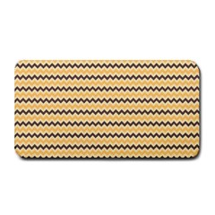 Colored Zig Zag Medium Bar Mats by Colorfulart23