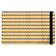 Colored Zig Zag Apple Ipad 2 Flip Case by Colorfulart23