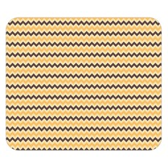 Colored Zig Zag Double Sided Flano Blanket (small)  by Colorfulart23