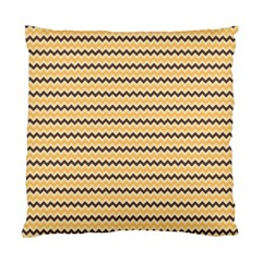 Colored Zig Zag Standard Cushion Case (two Sides) by Colorfulart23