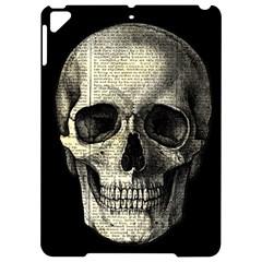 Newspaper Skull Apple Ipad Pro 9 7   Hardshell Case by Valentinaart