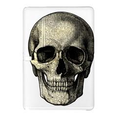 Newspaper Skull Samsung Galaxy Tab Pro 12 2 Hardshell Case by Valentinaart