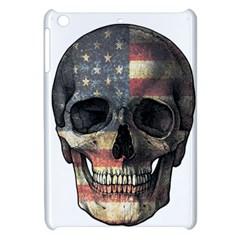 American Flag Skull Apple Ipad Mini Hardshell Case by Valentinaart