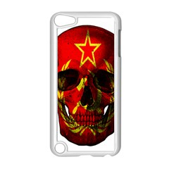 Russian Flag Skull Apple Ipod Touch 5 Case (white) by Valentinaart