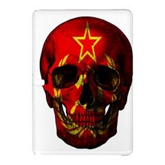 Russian Flag Skull Samsung Galaxy Tab Pro 12 2 Hardshell Case by Valentinaart