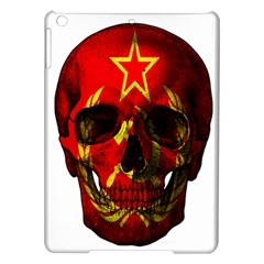 Russian Flag Skull Ipad Air Hardshell Cases by Valentinaart