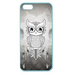 Wonderful Owl, Mandala Design Apple Seamless Iphone 5 Case (color) by FantasyWorld7