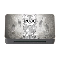 Wonderful Owl, Mandala Design Memory Card Reader With Cf by FantasyWorld7