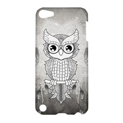 Wonderful Owl, Mandala Design Apple Ipod Touch 5 Hardshell Case by FantasyWorld7