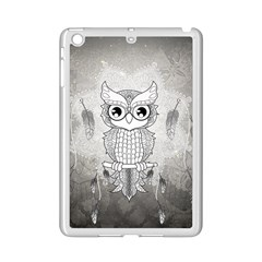 Wonderful Owl, Mandala Design Ipad Mini 2 Enamel Coated Cases by FantasyWorld7