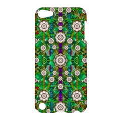 Pearl Flowers In The Glowing Forest Apple Ipod Touch 5 Hardshell Case by pepitasart