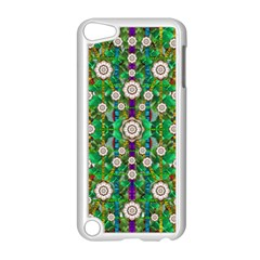 Pearl Flowers In The Glowing Forest Apple Ipod Touch 5 Case (white) by pepitasart