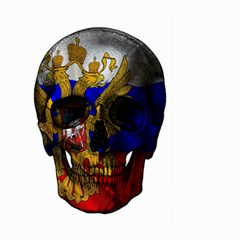 Russian Flag Skull Large Garden Flag (two Sides) by Valentinaart