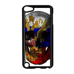 Russian Flag Skull Apple Ipod Touch 5 Case (black) by Valentinaart