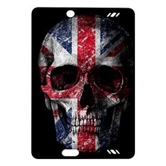 Uk Flag Skull Amazon Kindle Fire Hd (2013) Hardshell Case by Valentinaart