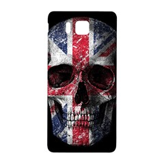 Uk Flag Skull Samsung Galaxy Alpha Hardshell Back Case by Valentinaart