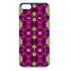 Lillie Of The Valley And Metal Apple Seamless Iphone 5 Case (color) by pepitasart