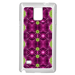 Lillie Of The Valley And Metal Samsung Galaxy Note 4 Case (white) by pepitasart