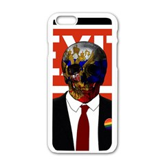 Dualism Apple Iphone 6/6s White Enamel Case by Valentinaart