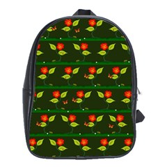 Plants And Flowers School Bags (xl)  by linceazul