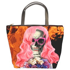 Bride From Hell Bucket Bags by Valentinaart