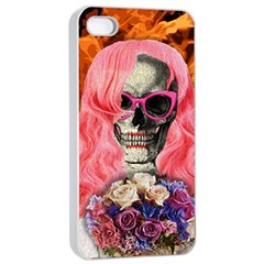 Bride From Hell Apple Iphone 4/4s Seamless Case (white) by Valentinaart