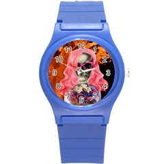 Bride From Hell Round Plastic Sport Watch (s)