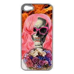 Bride From Hell Apple Iphone 5 Case (silver) by Valentinaart