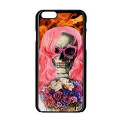 Bride From Hell Apple Iphone 6/6s Black Enamel Case by Valentinaart