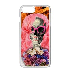 Bride From Hell Apple Iphone 7 Plus White Seamless Case by Valentinaart