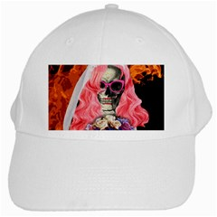 Bride From Hell White Cap by Valentinaart