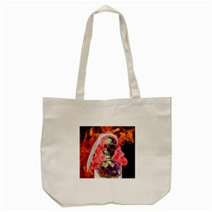 Bride From Hell Tote Bag (cream) by Valentinaart