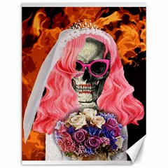 Bride From Hell Canvas 12  X 16   by Valentinaart