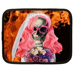 Bride From Hell Netbook Case (xxl)  by Valentinaart