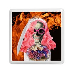 Bride From Hell Memory Card Reader (square)  by Valentinaart