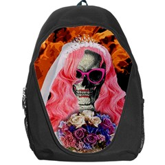 Bride From Hell Backpack Bag by Valentinaart