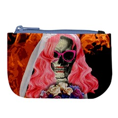 Bride From Hell Large Coin Purse by Valentinaart