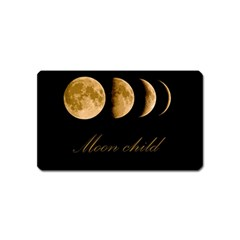 Moon Child Magnet (name Card) by Valentinaart