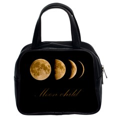 Moon Child Classic Handbags (2 Sides) by Valentinaart