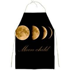 Moon Child Full Print Aprons by Valentinaart