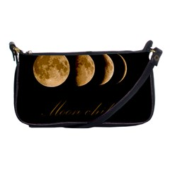Moon Child Shoulder Clutch Bags by Valentinaart