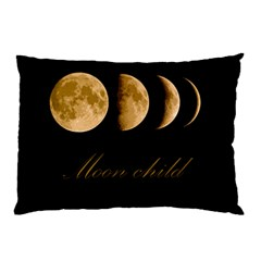 Moon Child Pillow Case (two Sides) by Valentinaart