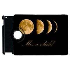 Moon Child Apple Ipad 3/4 Flip 360 Case by Valentinaart