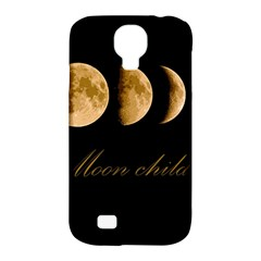 Moon Child Samsung Galaxy S4 Classic Hardshell Case (pc+silicone) by Valentinaart