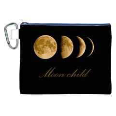 Moon Child Canvas Cosmetic Bag (xxl) by Valentinaart