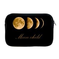 Moon Child Apple Macbook Pro 17  Zipper Case by Valentinaart