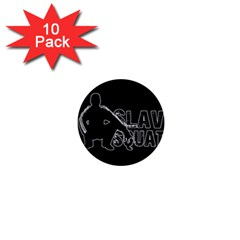 Slav Squat 1  Mini Buttons (10 Pack)  by Valentinaart